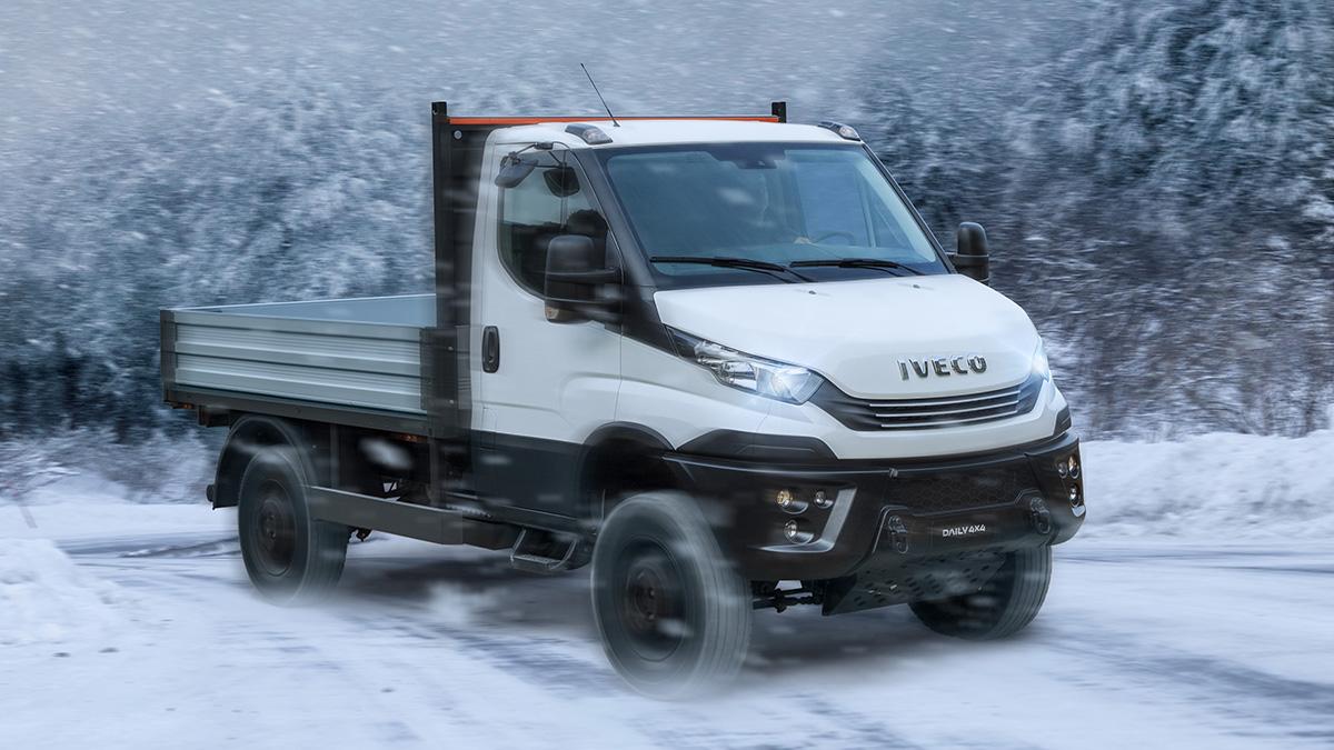 Iveco Daily 4×4: el vehículo que muchos habrían deseado tener tras el paso de Filomena
