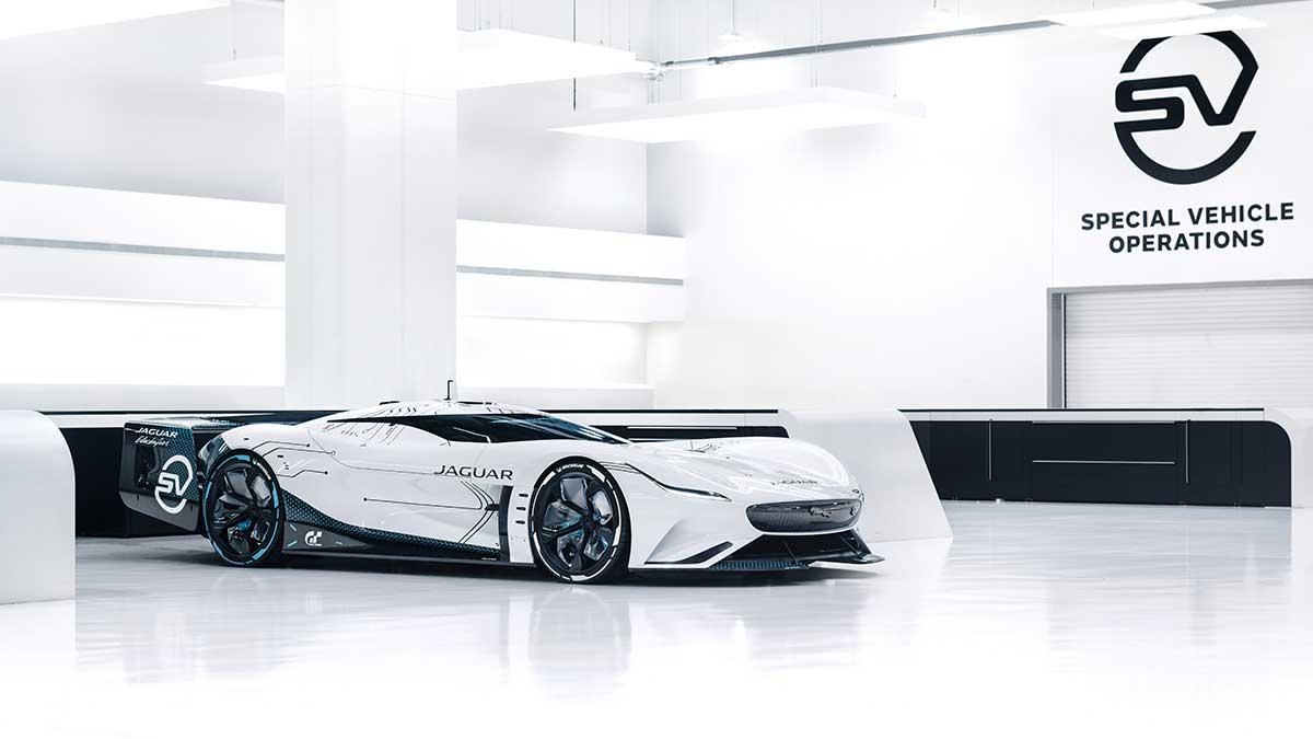 Jaguar Vision GT SV: así imagina Jaguar el vehículo eléctrico de carreras de resistencia