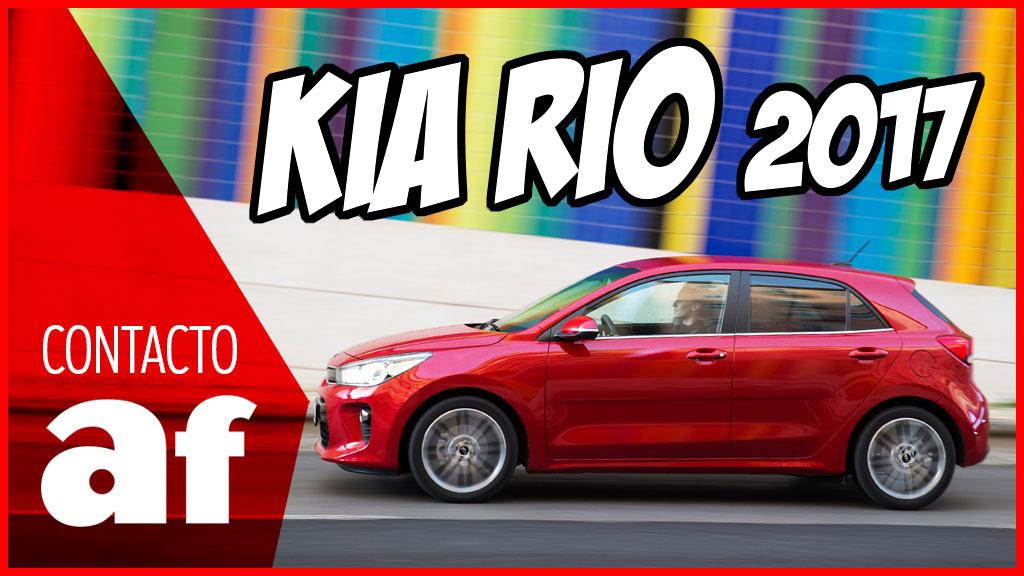 Analizamos a fondo el nuevo Kia Rio 2017 en este vídeo