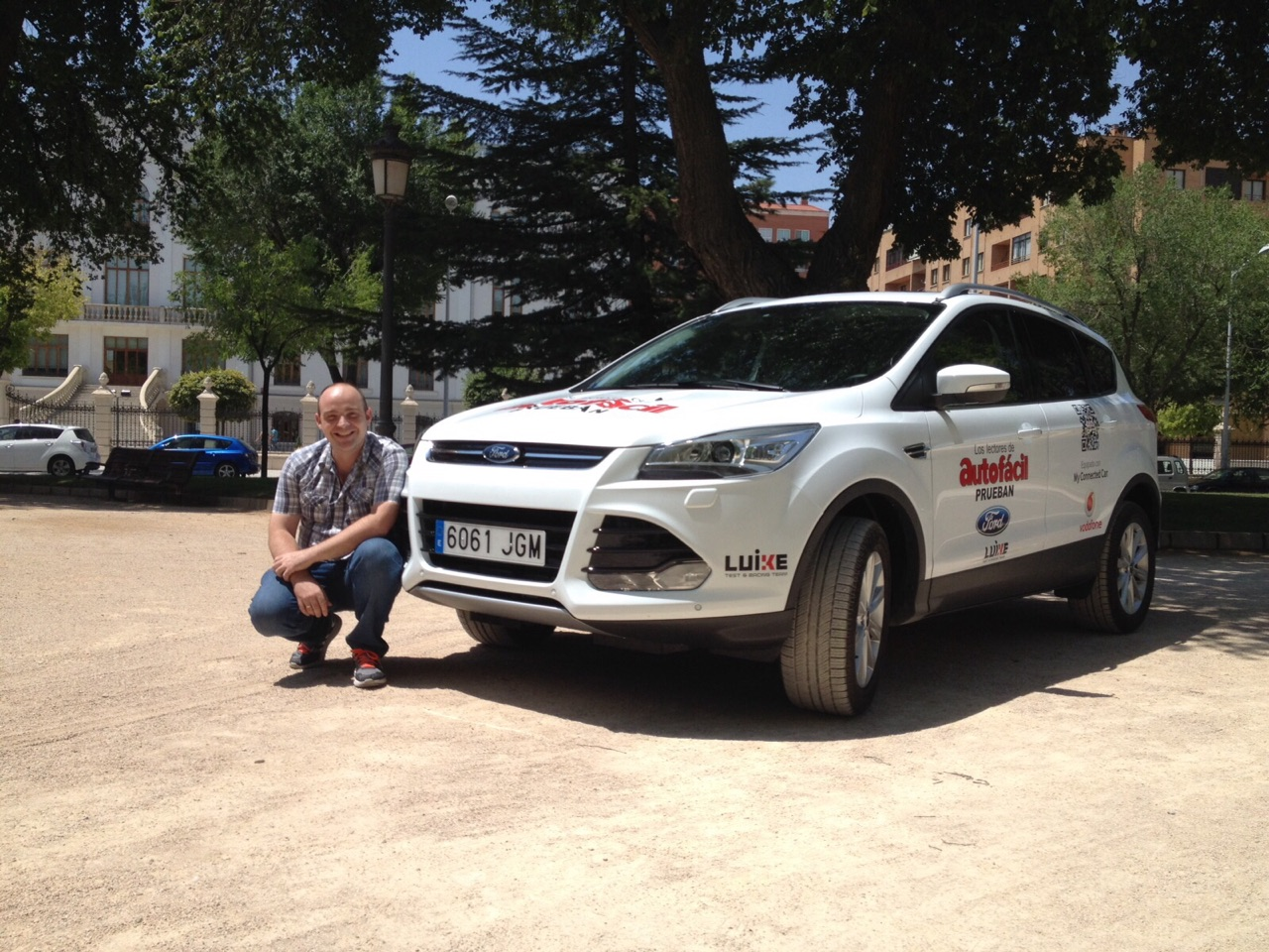 Nuestro Ford Kuga se queda en Córdoba esta semana