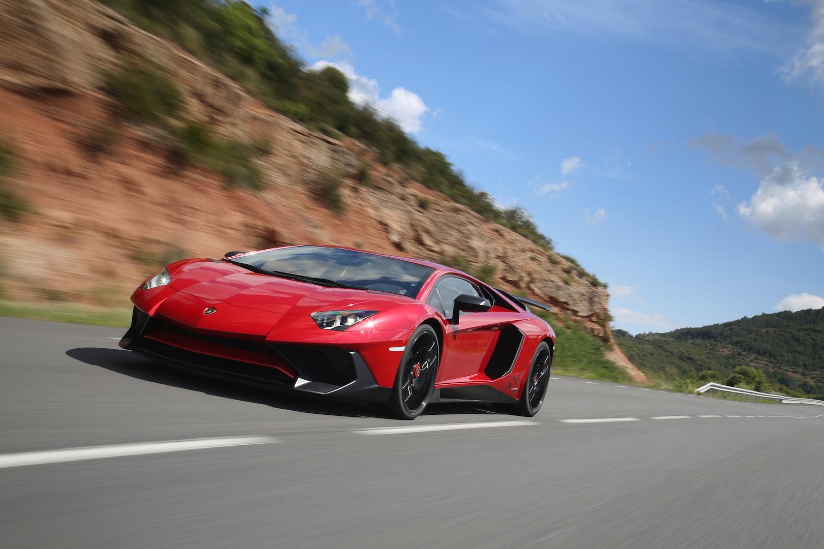 El nuevo Lamborghini Aventador se deja ver en Barcelona