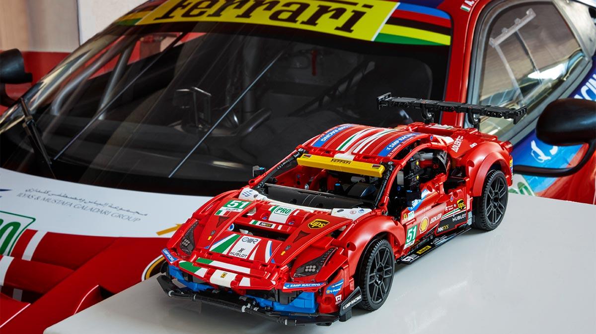 ¡Atención coleccionistas! Hagan hueco en sus vitrinas para el nuevo Ferrari 488 GTE de Lego Technic