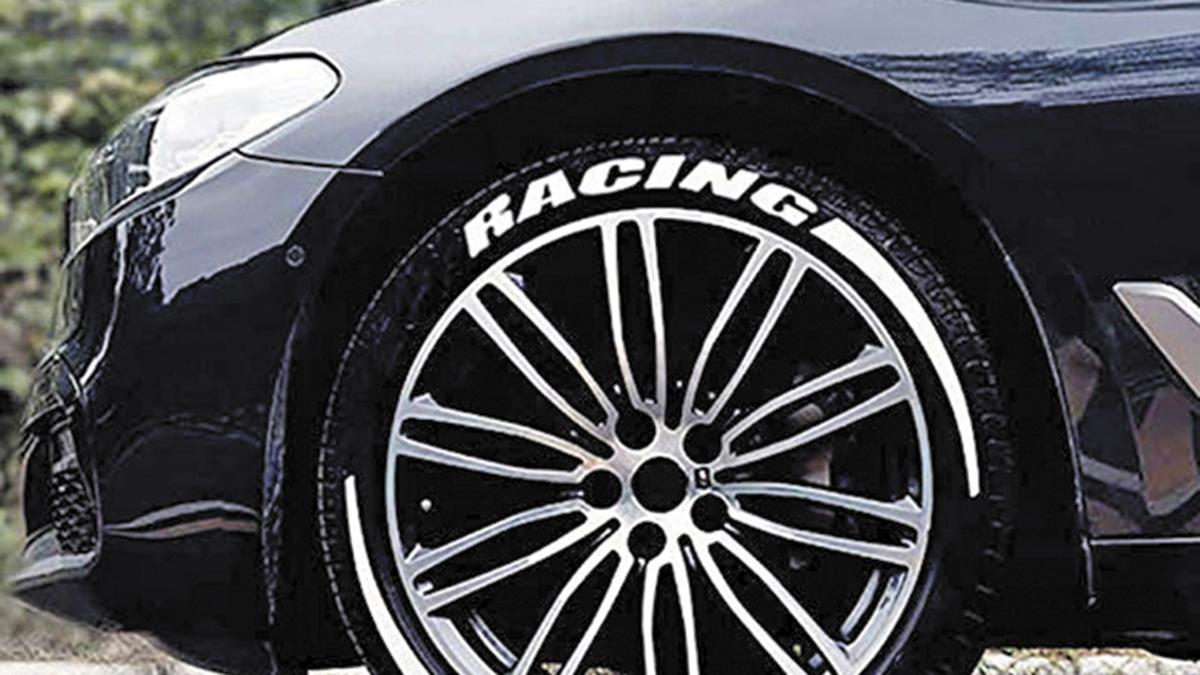 letras blancas ruedas