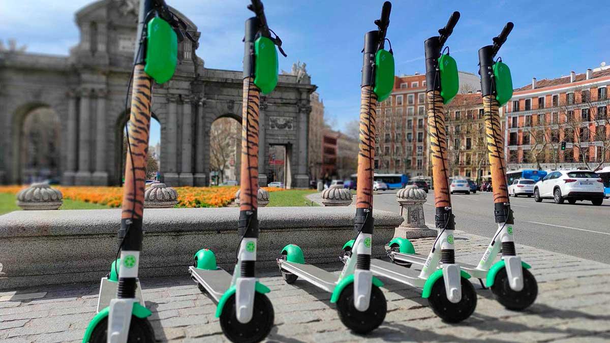 Los patinetes de Lime ya están disponibles en la app de Uber en Madrid