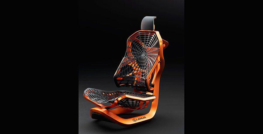 los revolucionarios asientos lexus kinetic seat concept en paris