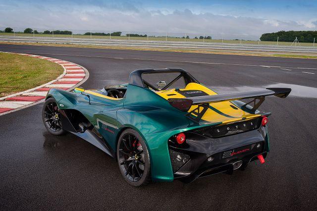 Vídeo del Lotus 3-Eleven divirtiéndose en Nürburgring