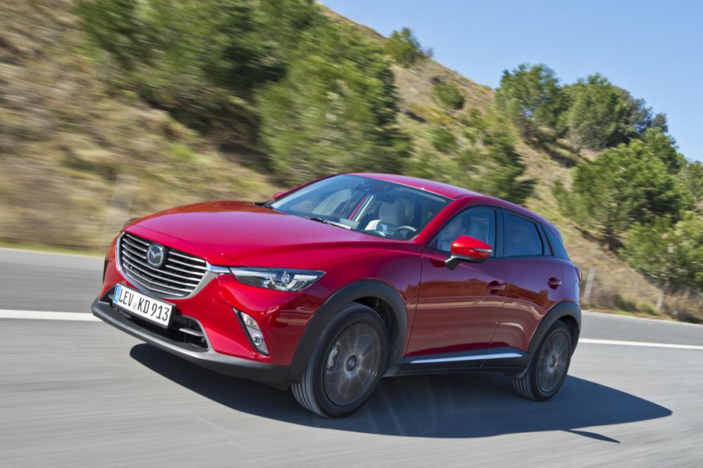 Primera prueba: Mazda CX-3