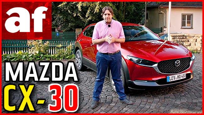 Vídeo: review y prueba del Mazda CX-30 Skyactiv-G