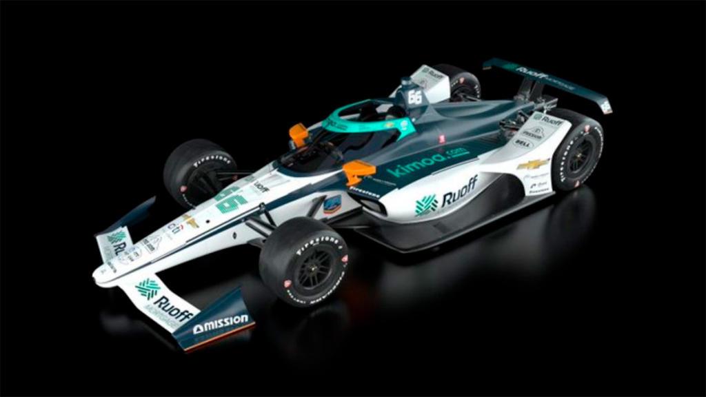 ¿Qué características tiene el parabrisas de un IndyCar?