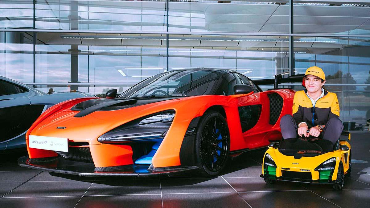 McLaren Senna Ride-On: el juguete que todo padre petrolhead desea para sus hijos