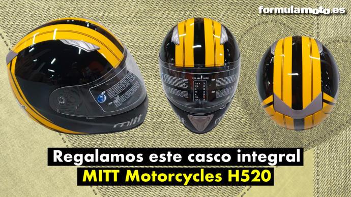 Bases del concurso ´La web y RR.SS Facebook-Twitter-Instagram, de Fórmula Moto regala 3 Cascos de Moto MITT H520´