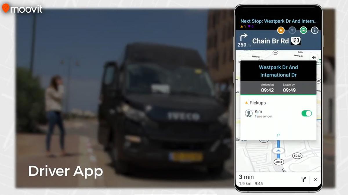 Moovit lanza una solución de transporte bajo demanda para los desplazamientos de trabajadores esenciales