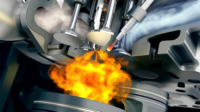 ¿Qué es un motor diésel y cuánto contamina?