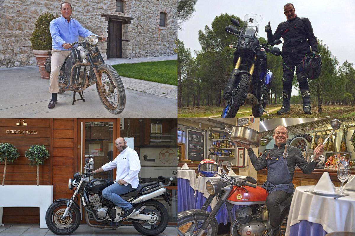 Vino, gastronomía y pasión por la moto