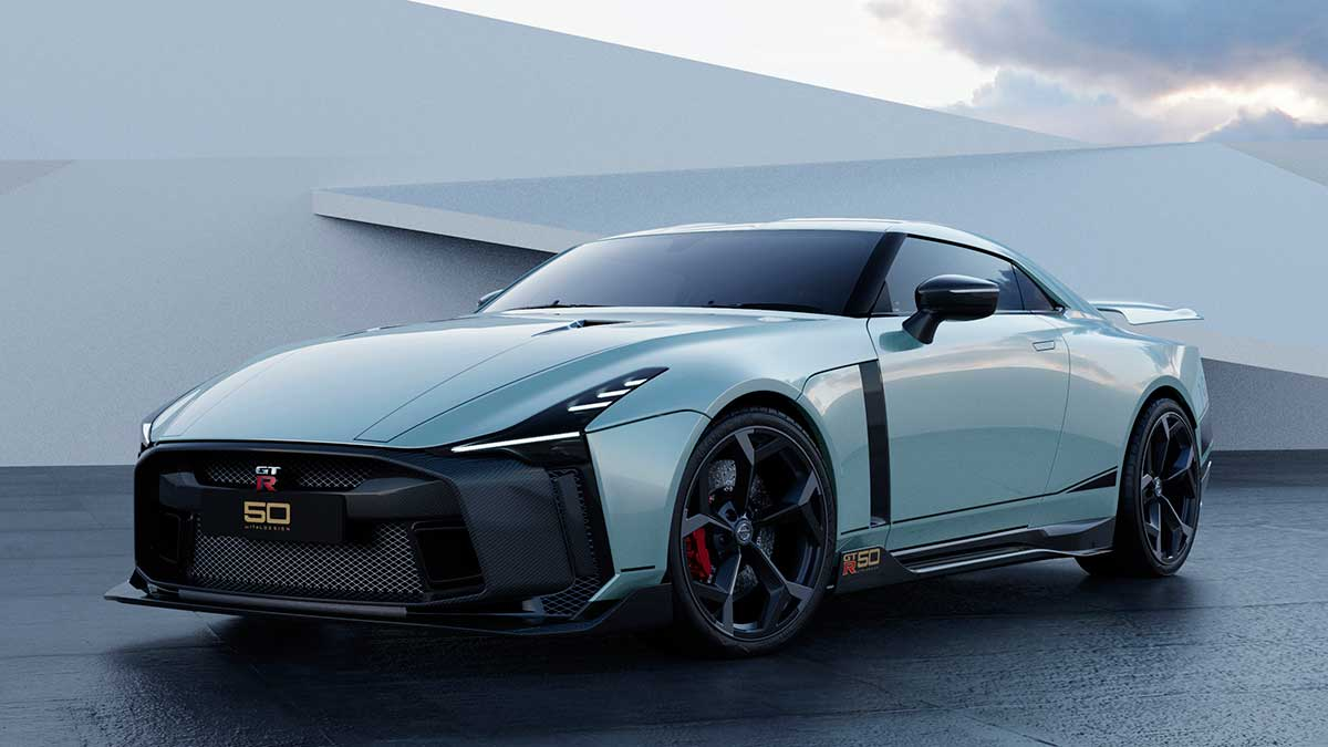 nissan gt r50 by italdesign production rendering mint fr34 source