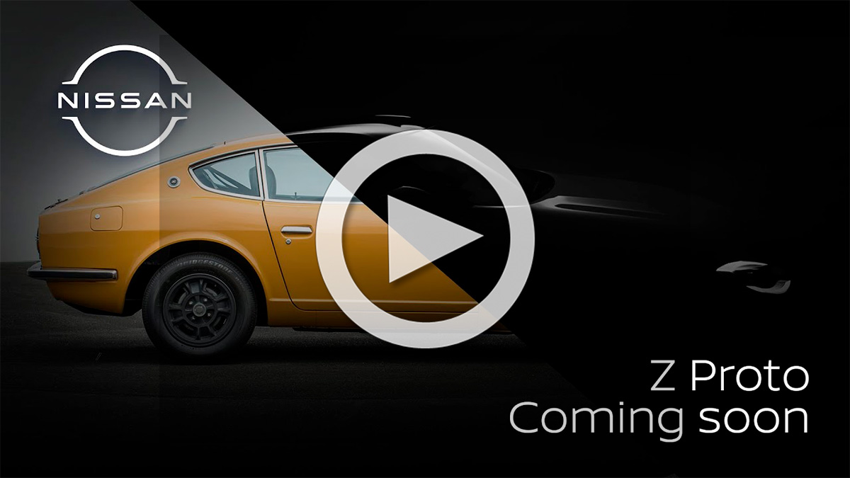 Nissan publica un teaser con nuevas imágenes del Z Proto, el sucesor del 370Z
