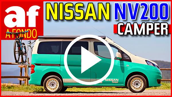 Video: review y prueba del Nissan NV200 Camper