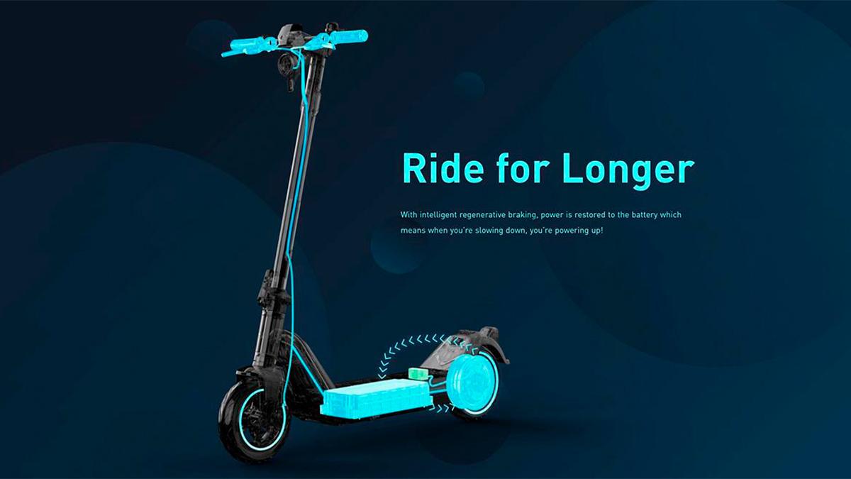 NIU Kick Scooter 2021: un patinete eléctrico chino con una autonomía de hasta 50 km