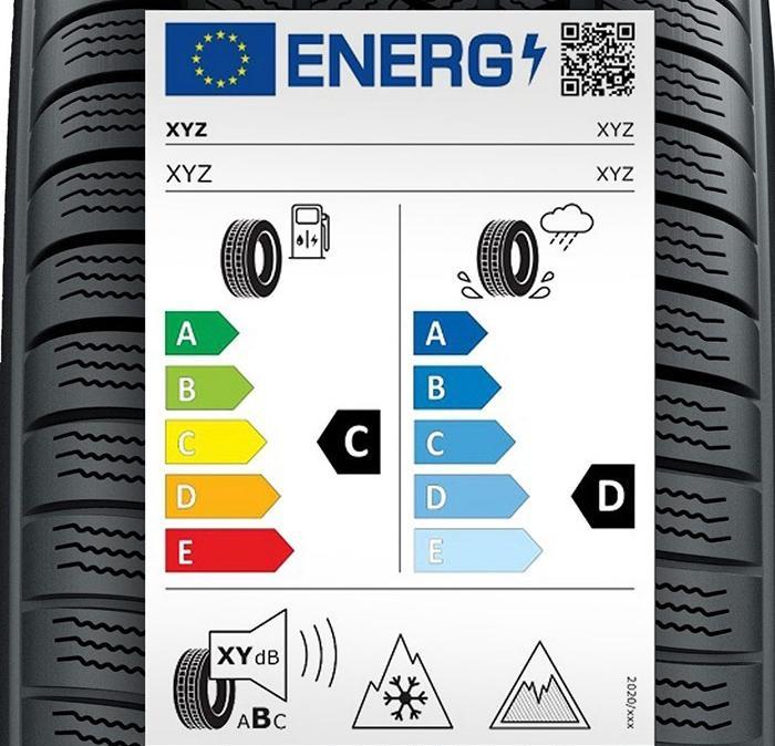 Ya entra en vigor el nuevo etiquetado de neumáticos: así cambia