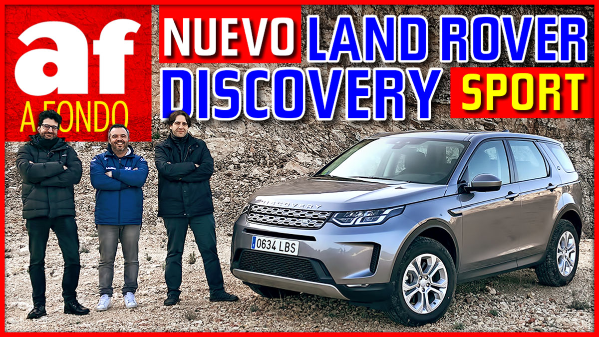 Nuevo Discovery Sport – Interior