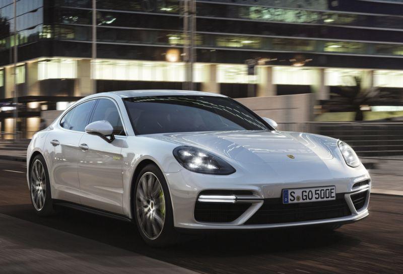 Así es el nuevo Porsche Panamera Turbo E-Hybrid