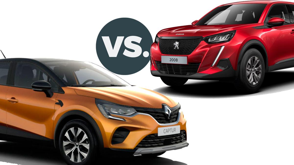 Peugeot 2008 Style vs. Renault Captur Limited: los SUV urbanos que marcarán 2021