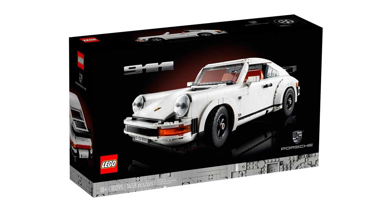 Porsche 911 de Lego: el mejor regalo para los fans de la marca alemana