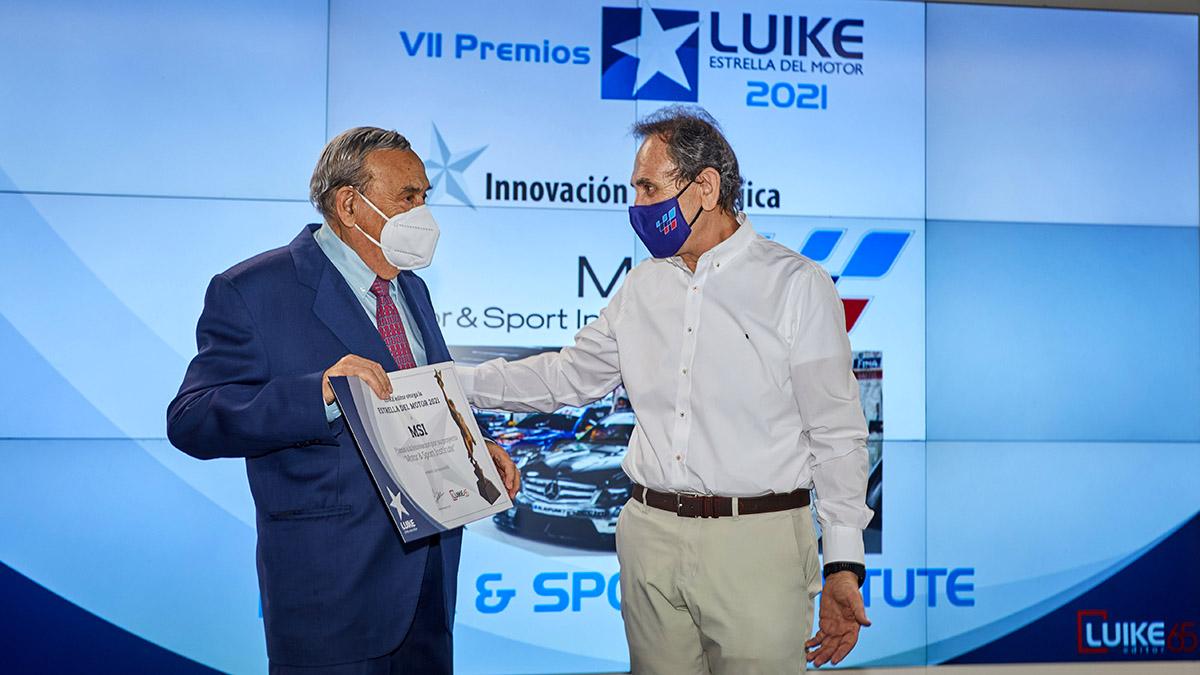 Motor & Sport Institute, Premio Estrella LUIKE a la Innovación