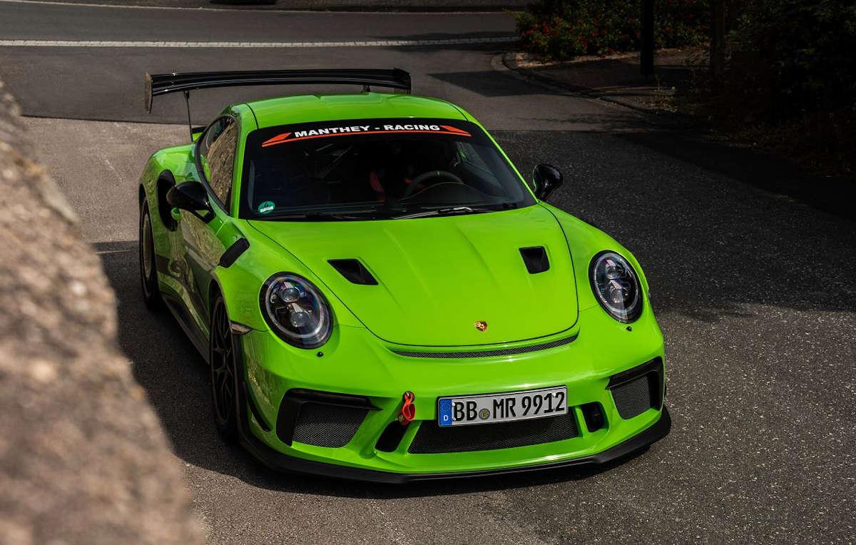 Vídeo: Porsche 911 GT3 RS MR, todavía más extremo