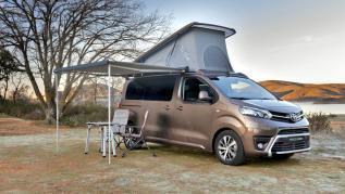 Toyota Proace Verso Camper, mejor equipado que nunca