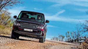 Fotos de la prueba del Range Rover P400e