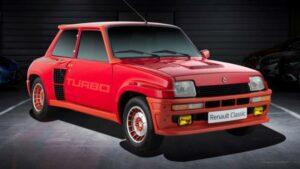 Fotos de los Renault Turbo del Retromobile 2019