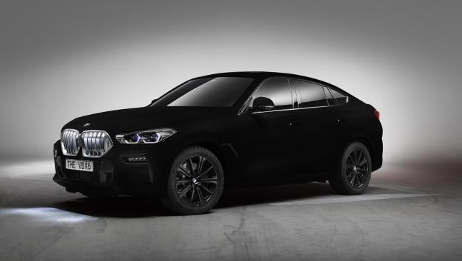 BMW X6 Vantablack: el coche más oscuro del mundo