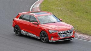 Fotos espía del Audi e-tron Quattro S