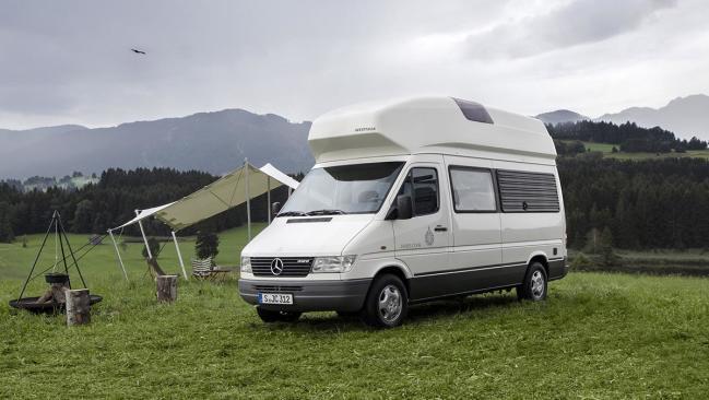 25 años de camperización con base Mercedes