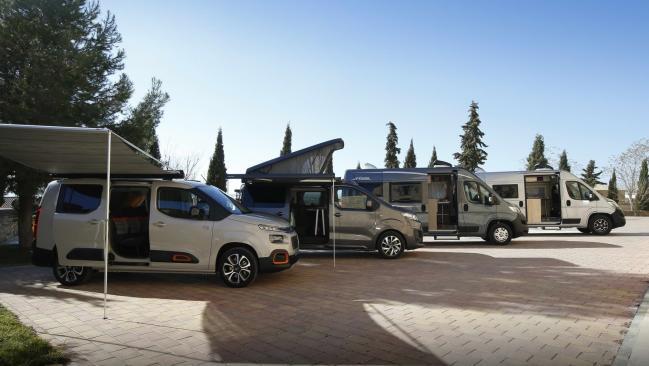 Furgonetas camper de Citroën, soluciones para los más aventureros