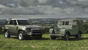 Fotos de la cronología del Land Rover Defender