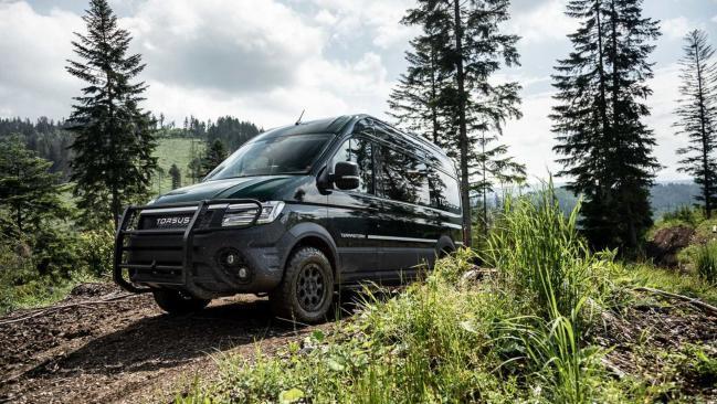 Torsus Terrastorm: un minibus todoterreno para llegar al fin del mundo