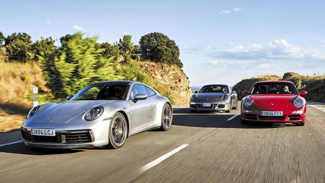 Los últimos Porsche 911 atmosféricos se enfrentan al 992