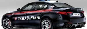 Fotos del Alfa Giulia Quadrifoglio Carabinieri