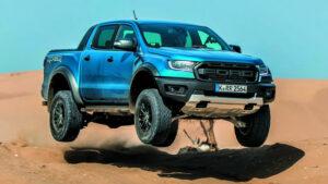 Fotoprueba del Ford Ranger Raptor
