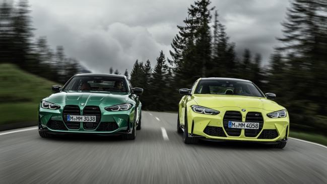 Nuevos BMW M3 y M4 Competition 2021: primera prueba
