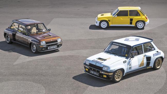 Renault 5 Turbo: a prueba la versión de calle… ¡y las de competición!