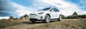 Prueba del Tesla Model X