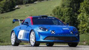 Fotos del Alpine A110 Rally