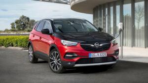 Fotos del Opel Grandland X Hybrid4