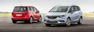 Fotos de la prueba del Opel Zafira 2016