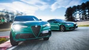 Fotos: Alfa Romeo Stelvio y Giulia Quadrifoglio 2020