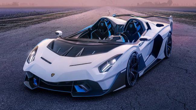 Lamborghini SC20: una barchetta única de 770 CV para disfrutar a cielo abierto