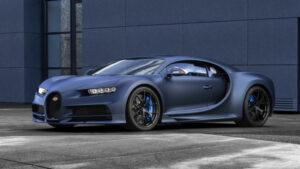 Fotos del Bugatti Chiron Sport «110 Ans Bugatti»